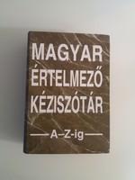 MAGYAR ÉRTELMEZŐ KÉZISZÓTÁR A-Z