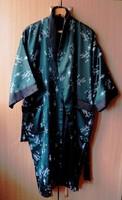 Csodás selyem,kézzel hímzett kimono