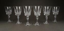 1C805 Elegáns hibátlan likörös pohár készlet 6 darab