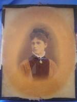 Dagerrotípia 1850 kortörténeti ritkaság lehet cromotópia is.üveglapos