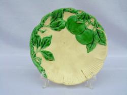 Ritka színű Körmöcbánya majolika tányér