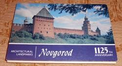 14 szovjet Novgorod képeslap képes levelezőlap postatiszta