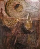Gadányi Jenő 1951 olaj festménye