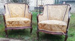 Csodás formájú neobarokk fotel