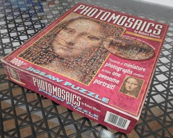 Photomosaics Robert Silvers Mona Lisa 1000 db -os Jigsaw Puzzle