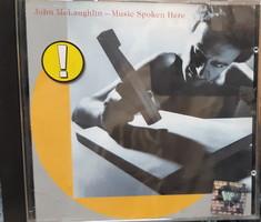 JOHN MCLAUGHLIN : MUSIC SPOKEN HERE  -  RITKA   JAZZ CD