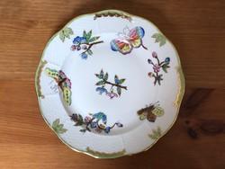 Antik Herendi Victoria desszertes tányér az 1910-es évekből