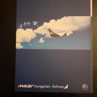 2 db.Malév mappa együtt eladó