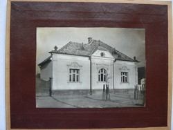 CSALÁDI HÁZ KEMENESHŐGYÉSZ, MARTON KÁROLY ÚT 1910  KÖRÜL FOTÓ EREDETI