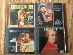 Mozart,BoneyM,Little Richards,Fats Domino cd