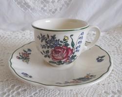 Villeroy&Boch fajansz csésze aljjal