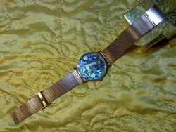 Abalone gyöngyház arany ozott ékszer óra karóra vízálló