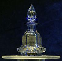 Parfümtartó emlék üveg