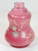 Gyönyörű antik parfümös üveg! /parádi?/