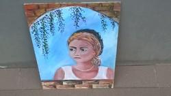 Szép női festmény