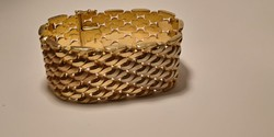Gyönyörű női arany karkötő 14 k. 59,6 gr.