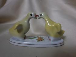 Ritka porcelán kacsa pár
