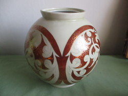 Nagyon ritka régi Drasche porcelán,kézi festett /Nagy Sára/