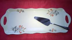 MCP füles  süteményestálca ajándék tortalapáttal