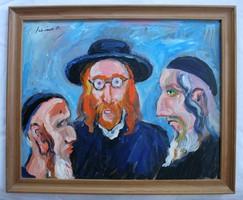 Schéner Mihály kétoldalas festménye