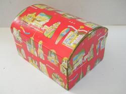 Vintage Altmann & Kühne bécsi bonbonos doboz  (Lukáts Kató)