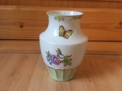 Herendi viktória mintás váza 16cm