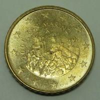 50 Euro cent San Marino 2006 - Forgalmi érem