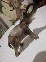 Sitzendorf antik elefánt 1884 és 1902