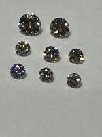 Gyémánt Brilliáns 1 CT ( 8db ) Fehér Kő MAGAS MÍNŐSÉGŰ Egyben Piaci Értéke Töredékért Eladó & Csere
