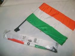 Autós zászló - nemzeti színű - két darab - újak