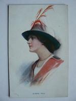 ALWAYS TRUE POST CARD, KÉPESLAP 1913 THE CARLTON PUBLISHING CO., LONDON NO.678/2 (9X14 CM) EREDETI