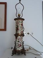 ZSOLNAY JÚLIA lámpa-1878-ból