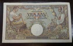 Szerbia 1000 Dinár 1942 Vf.