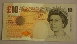 Anglia 10 pounds 2003 UNC