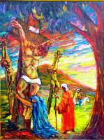 Gráber Margit (1896-1993): Jézus megfeszítése