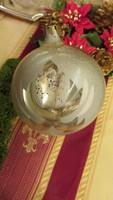 Régi gömb üveg karácsonyfadísz