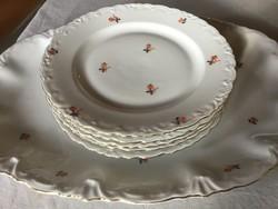 Gyönyörűséges, MCP Mayer antik süteményes, kemény porcelán, ritkaság, (400)