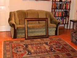 Szépséges szeci keret (1.) 55 x 70 cm-es képhez , kitűnő állapotban