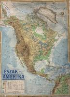 Észak-Amerika térképe