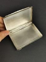 Ezüst, antik cigaretta tartó