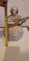 Déryné, herendi porcelán szobor, 22 cm magasságú