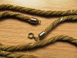 Vintage bizsu nyaklánc, 82 cm hosszú, a 70-es évekből eladó