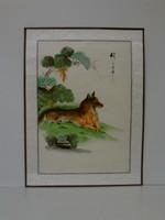 Kutya, kínai festmény
