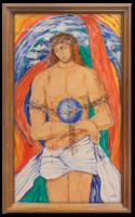 Jézus szenvedése I.(sorozat része) 1987 - Modern, szép színvilággal elkészített vallási jelenet