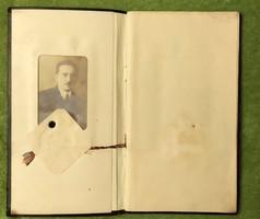 Szászy István nemzetközi hírű jogtudós,orvosi kari leckekönyve,100 éve lett kitöltve, eladó kuriózum