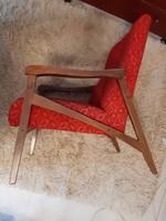 Különleges karfàjù retro fotel