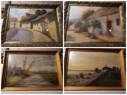 Festmények eladók vagy cserélhetők.
