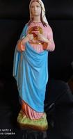 Mária szive szobor. 62 cm. Italy, 1929 felirattal.