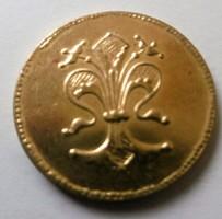 Róbert aranyforintjához hasonló érme réz ötvözret T1