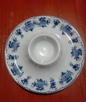 Hagymamintás  porcelán tojástartó